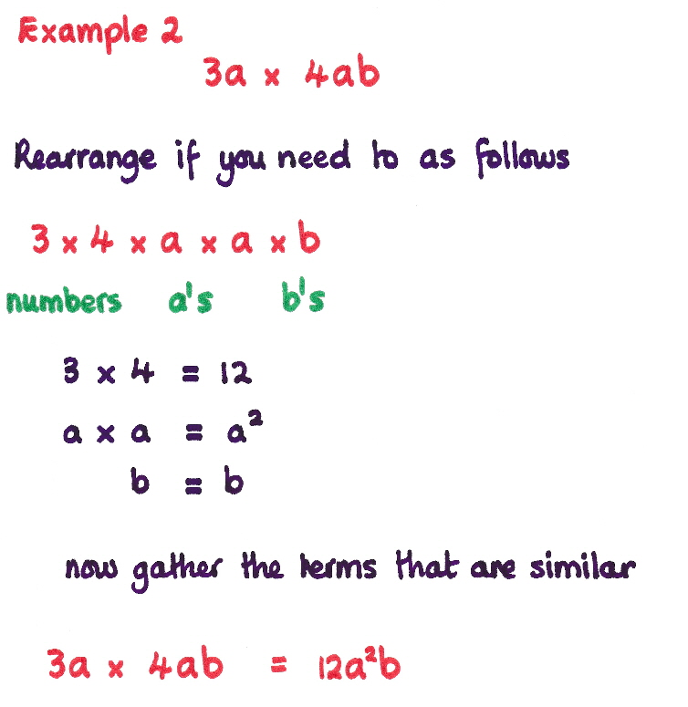 Example Two  Multiplying